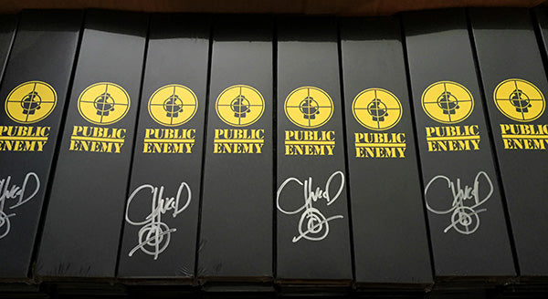 Autographed Public Enemy Vannen Artist Watches Packaging