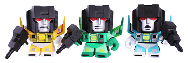 Transformers x The Loyal Subjects - The Rainmakers 3 Pack