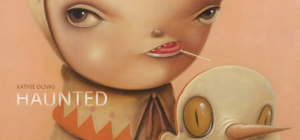 "Kathie Olivas ""Haunted"" AFA SoHo Art Show"