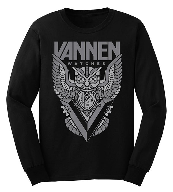 "Limited Edition Vannen Watches Long Sleeve ""Seeker"" T-Shirt"