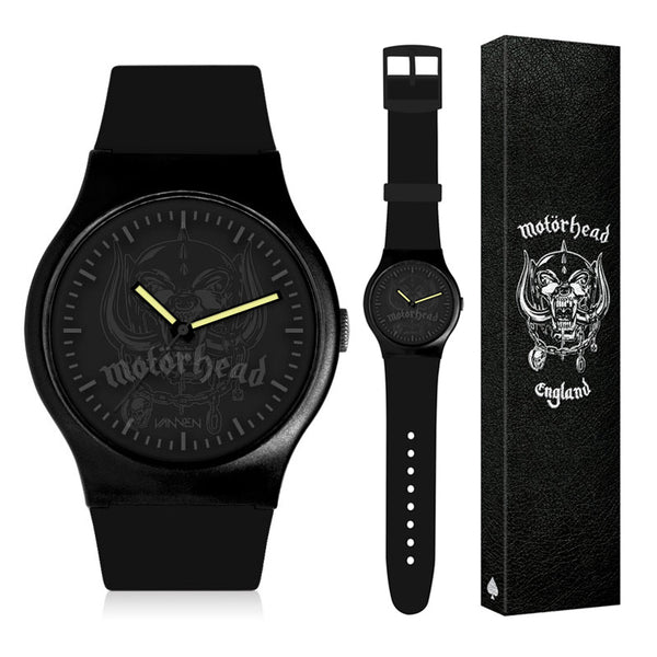 "Limited Edition Motörhead ""Stealth Warpig"" Vannen Watch"
