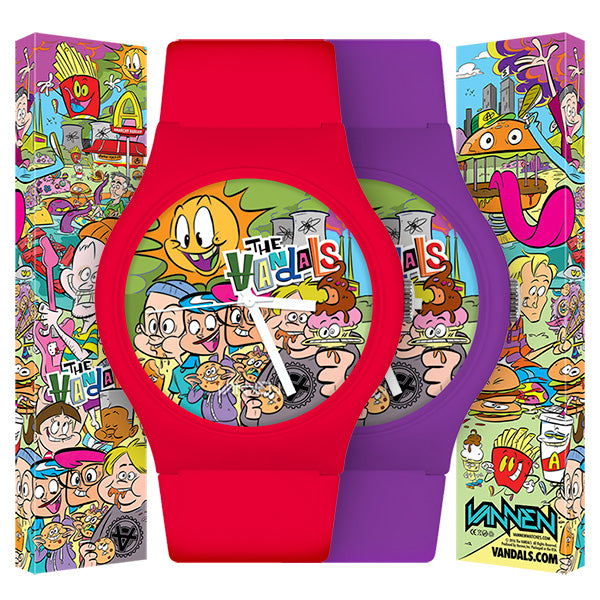 The Vandals Limited Edition Anarchy Burger Watch Now Available for Purchase.