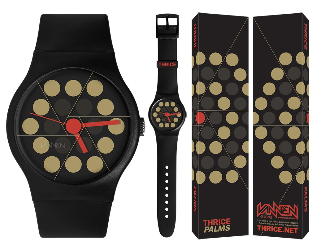 "Limited edition THRICE ""PALMS"" Vannen Watch"