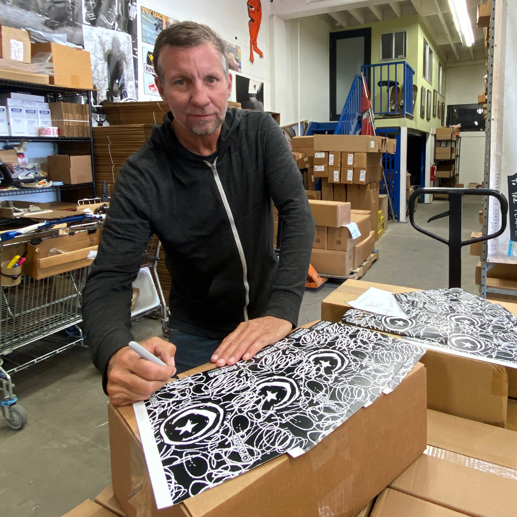 Tod Swank signing Foundation watch boxes