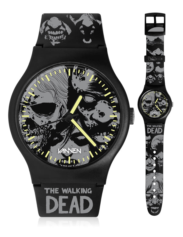 "SDCC Exclusive: The Walking Dead x Vannen Artist Watches ""Horde"""