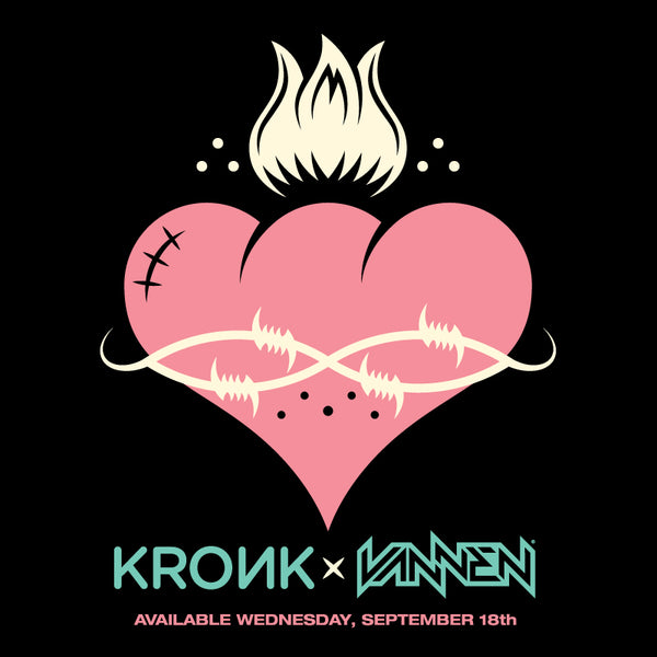 Limited Edition Kronk Vannen Artist Watch