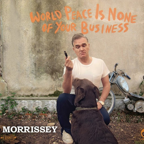 Morrissey Releases New Single, 'World Peace Is None of Your Business'