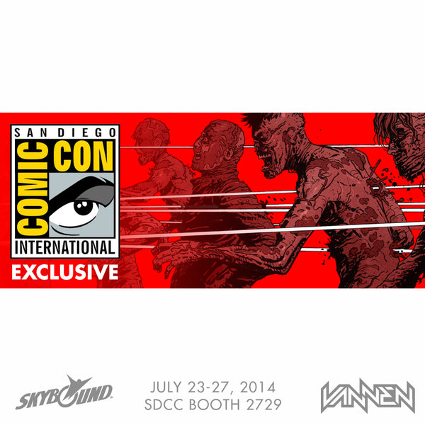 Vannen Artist Watches x Skybound 2014 SDCC Exclusive