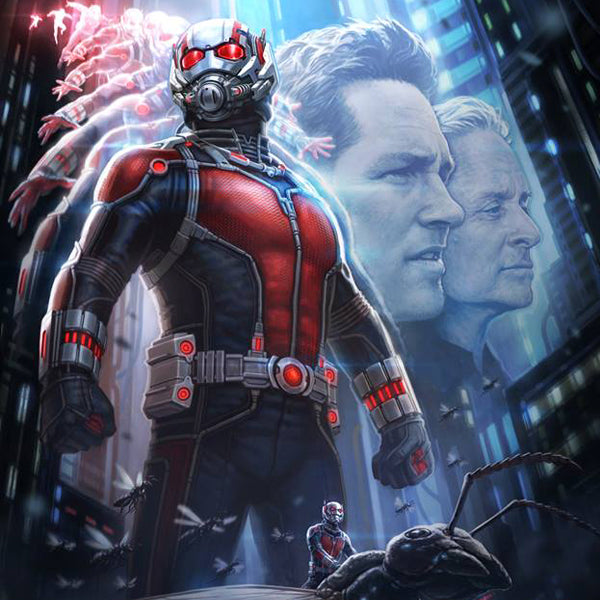 MARVEL's Ant-Man San Diego Comic-Con SDCC Poster