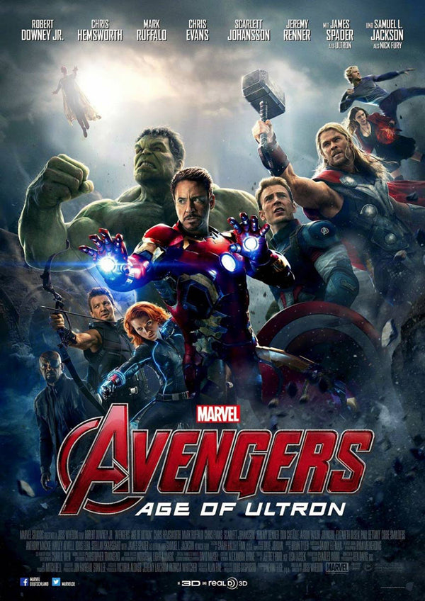 ‪Marvel's Avengers: Age of Ultron Poster