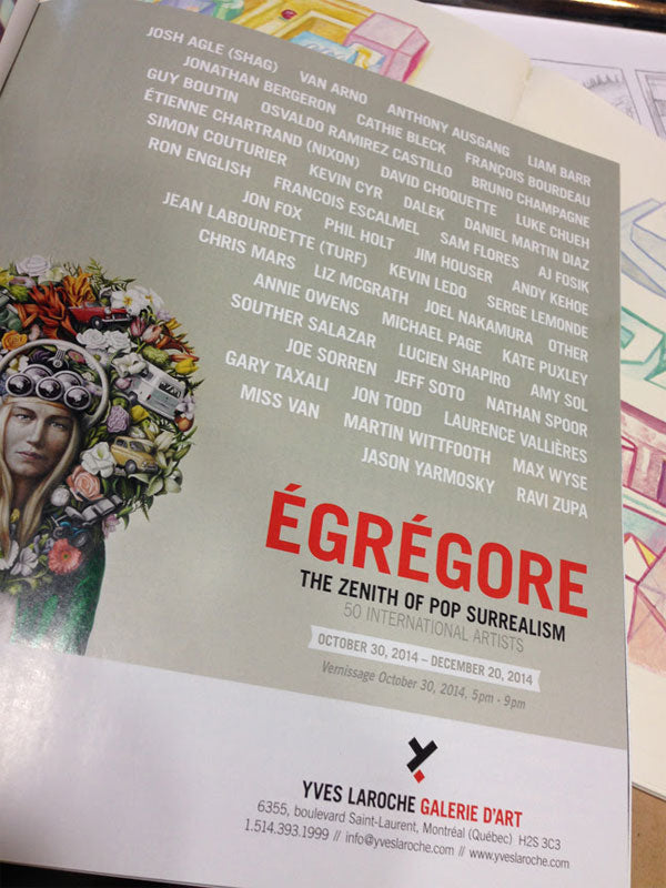 Egregrore: The Zenith of Pop Surrealism
