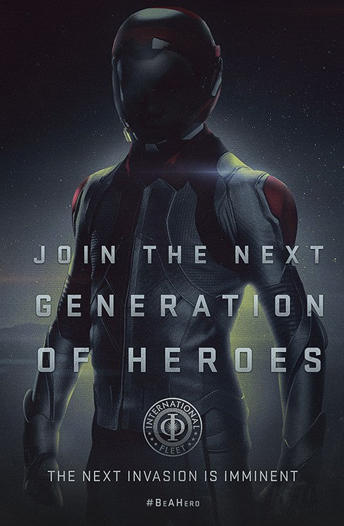 New Posters for Ender's Game