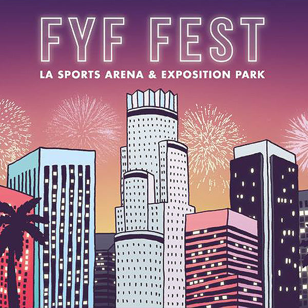 LINE UP OF BANDS PLAYING FYF FET 2014