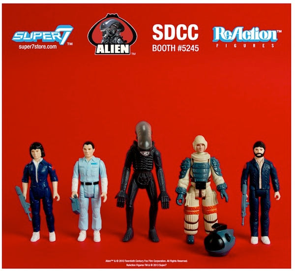 Super7 Alien ReAction Figures