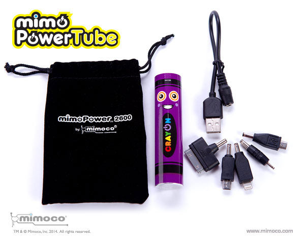 Mimoco MimoPowerTube Artist Series Phone Charger