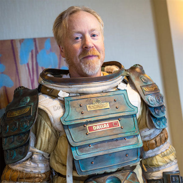 MythBusters' Adam Savage Reveals His Alien Spacesuit Replica