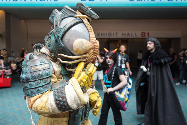 SDCC 2014: MythBusters' Adam Savage Reveals His Alien Spacesuit Replica