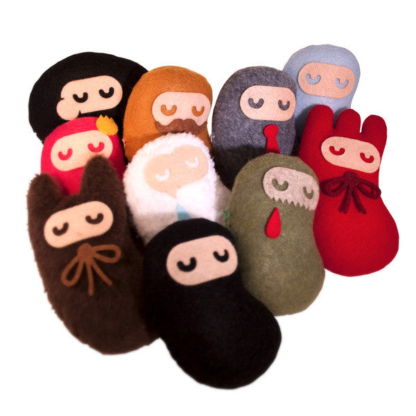 Shawnimals Baby Ninja Plush Series