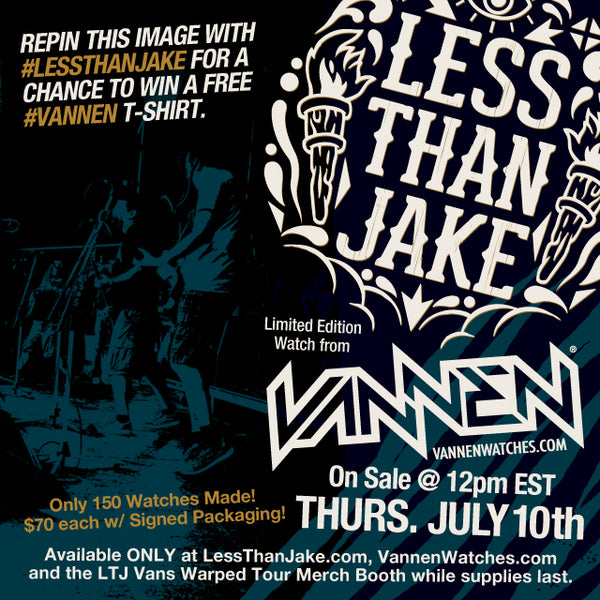 Less Than Jake Vannen Artist Watch