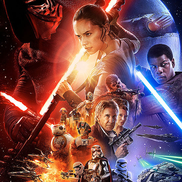 Star Wars: The Force Awakens Official Poster and Trailer
