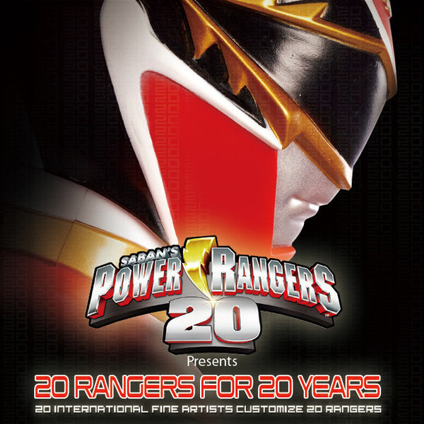 Toy Art Gallery - 20 Rangers for 20 Years - Power Rangers