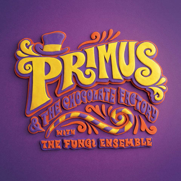 Primus Willy Wonka Tribute Album Cover
