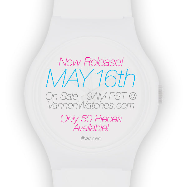 Super Limited Edition Vannen Artist Watch