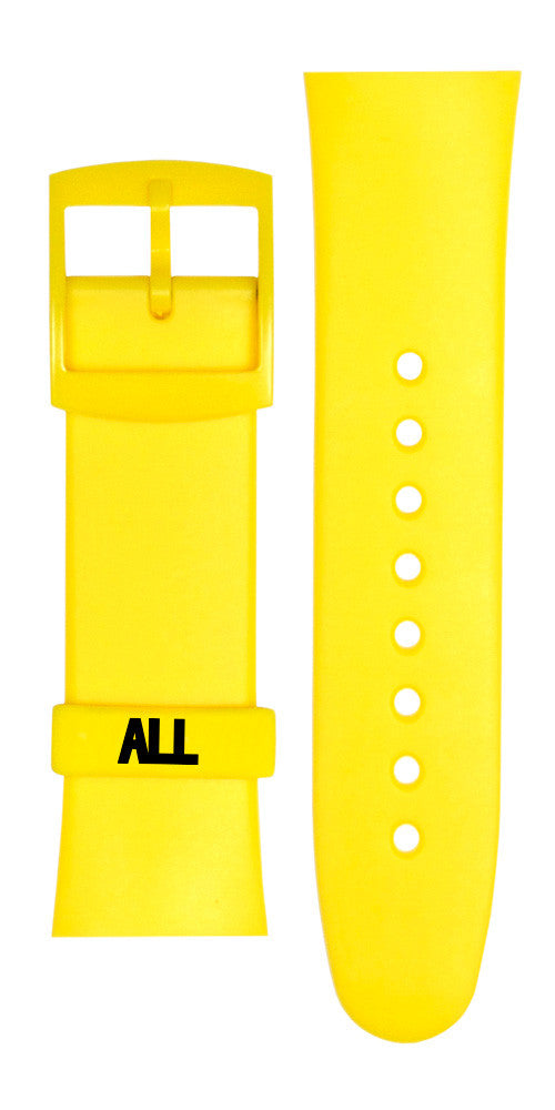 "ALL ""Allroy"" Yellow Watch Replacement Strap Set"