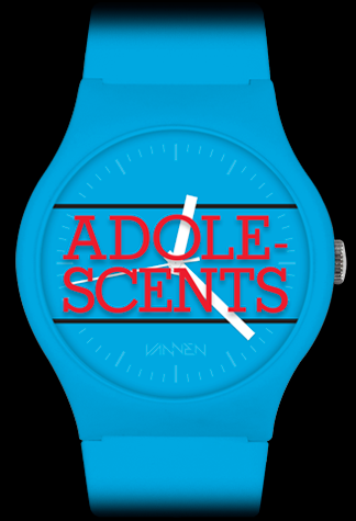 Adolescents x Vannen watch front view