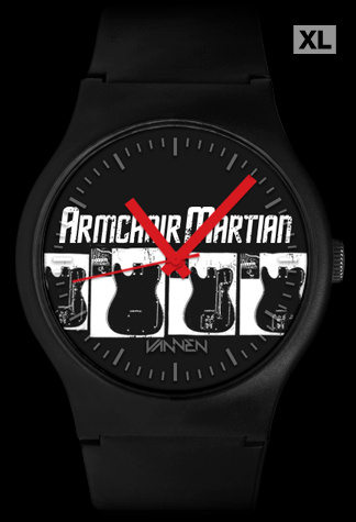 Limited Edition Armchair Martian Vannen Artist Watch