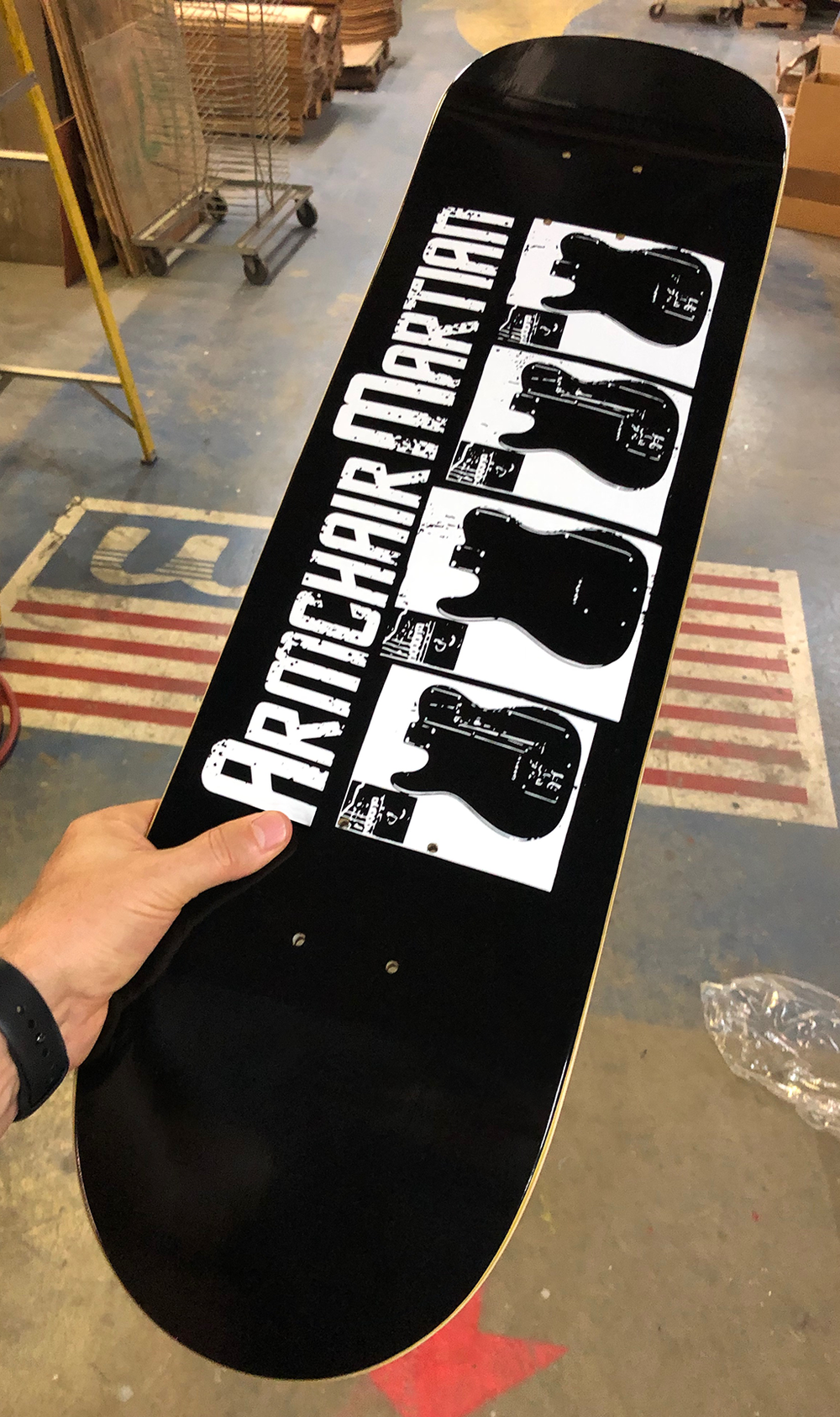 Limited edition Armchair Martian Vannen Skateboard Deck ...
