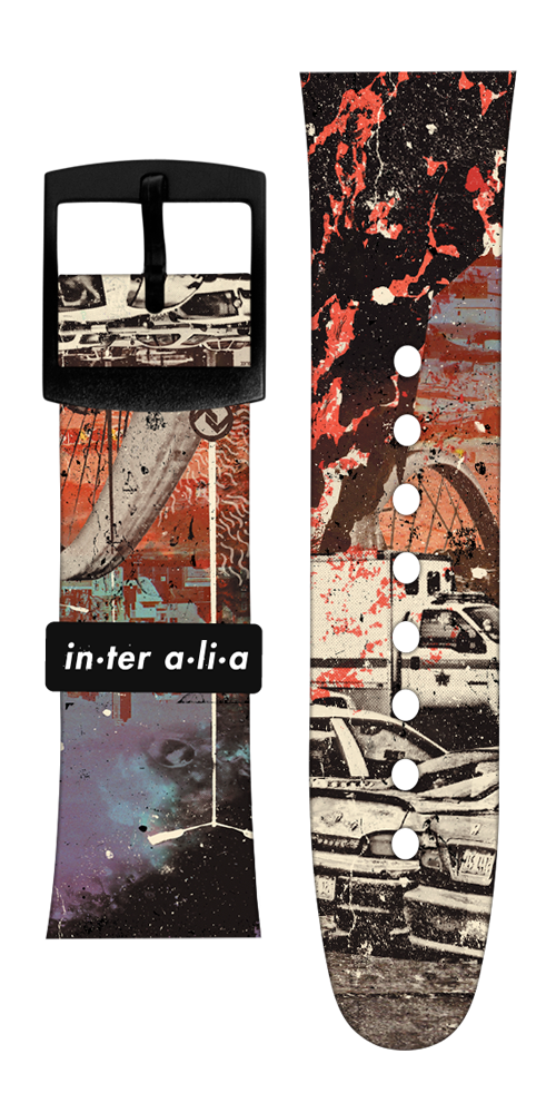 "Limited Edition At The Drive In ""Inter Alia"" Vannen Artist Watch Strap Set"
