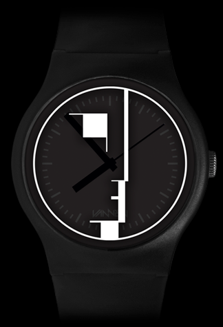 Limited edition Bauhaus Vannen Artist Watch