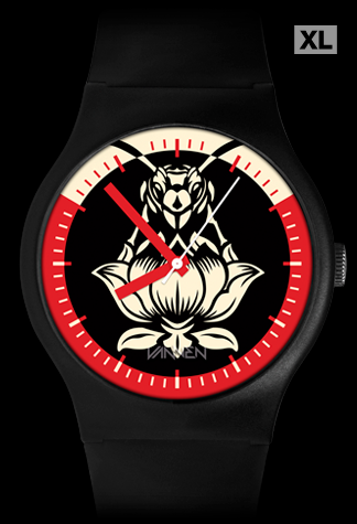 Limited edition Blondie Pollinator Black Variant Vannen Artist Watch