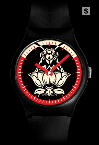 Size Small Blondie Pollinator Black Variant Vannen Artist Watch