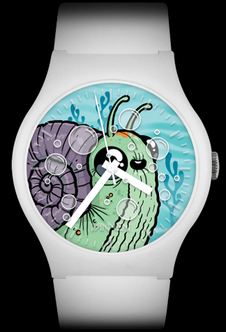 Chris Ryniak limited edition Me'Shell Vannen Artist Watch