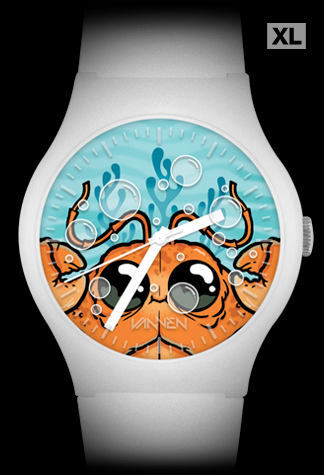 Chris Ryniak limited edition Clawmper Vannen Artist Watch