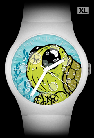 Chris Ryniak limited edition Turtlebum Vannen Artist Watch