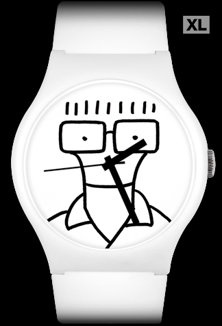 Limited edition Descendents 'Time to Rock' (black) Vannen Artist Watch