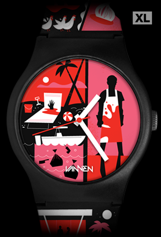 DEXTER Limited Edition Vannen Artist Watch