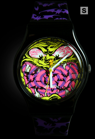 Dirty Donny purple 'Halloween Exclusive' Vannen Artist Watch