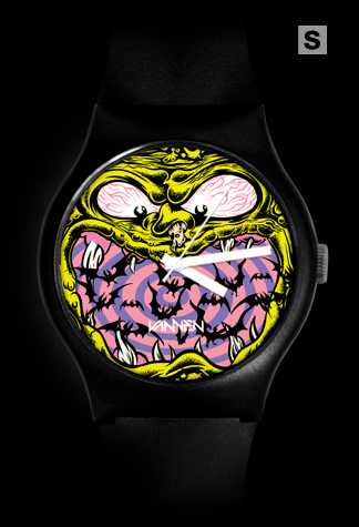 Dirty Donny 'Halloween Exclusive' black variant Vannen Artist Watch