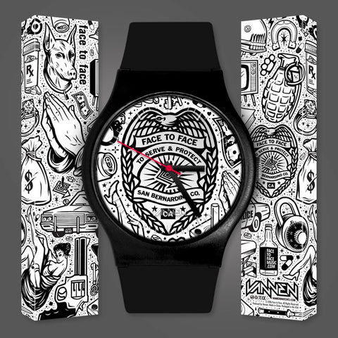 Limited Edition Face to Face Vannen Artist Watch