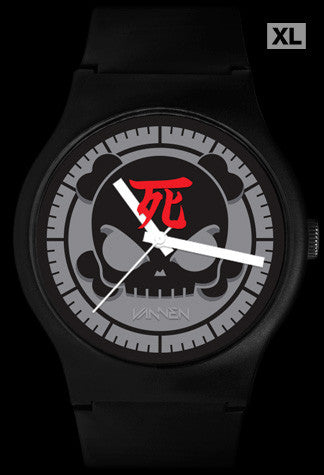 "Limited Edition Huck Gee ""Blank"" (Black) Vannen Artist Watch"