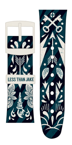 Limited edition Less Than Jake Vannen Artist Watches Strap Set