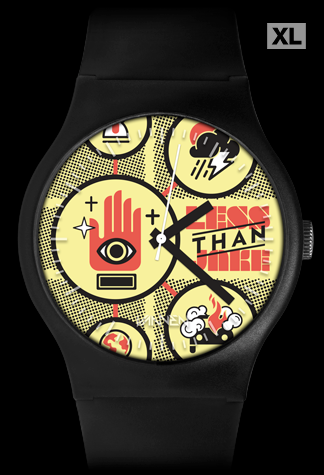 "Less Than Jake ""Sound The Alarm"" limited edition Vannen Artist Watch"