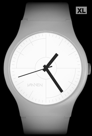 Limited Edition Mono IV Matte Grey Vannen Watch