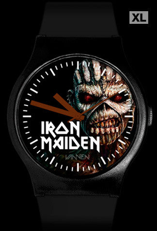"Limited Edition Iron Maiden ""The Book of Souls"" Vannen Artist Watch"