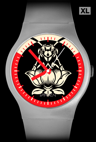 Limited edition Blondie Pollinator Matte Clear Variant Vannen Artist Watch