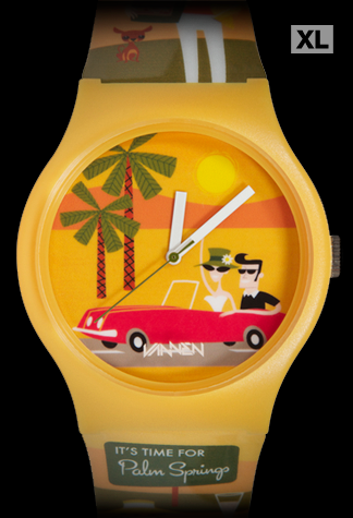 Limited edition SHAG 'Palm Springs' Vannen Artist Watch